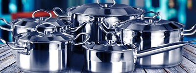 Commercial stainless steel