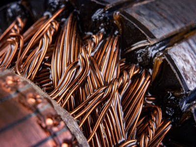 Copper electrical