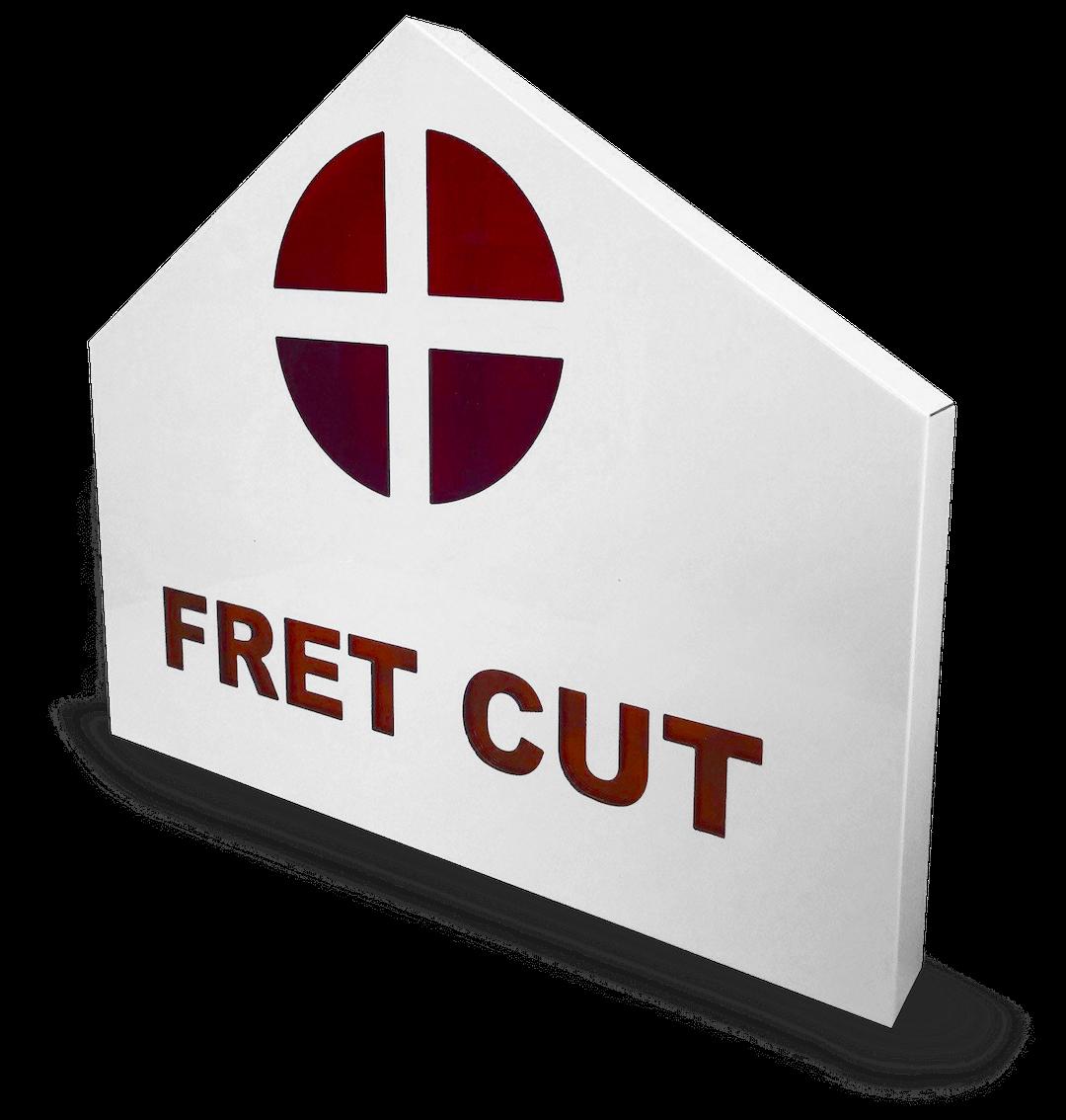 Fret cut tray