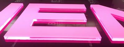 Rebated LED tray