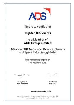 Cover image for ADS Righton Blackburns