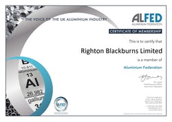 Cover image for ALFED Righton Blackburns Ltd