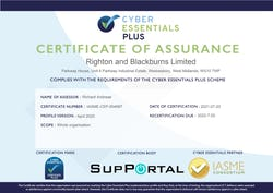 Cover image for Cyber Essentials Plus 2021