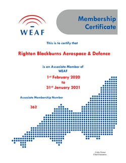Cover image for WEAF Righton Blackburns 20 21