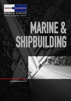 Cover image for Marine and Shipbuilding Brochure
