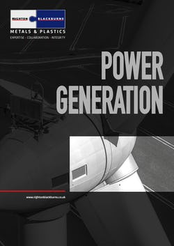 Cover image for Power Generation Brochure
