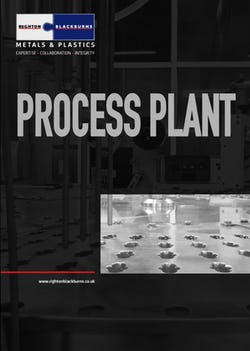 Cover image for Process Plant Brochure