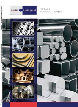Cover image for RB Metals Stock Range